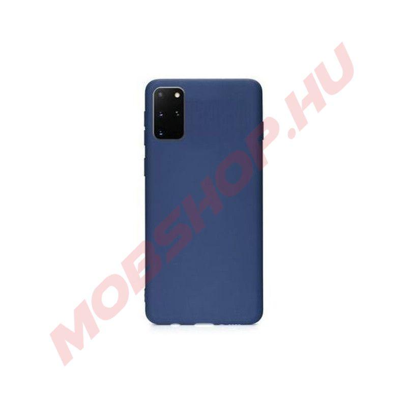 Samsung Galaxy S20 PLUS prémium szilikon telefontok SÖTÉTKÉK - mobshop.hu