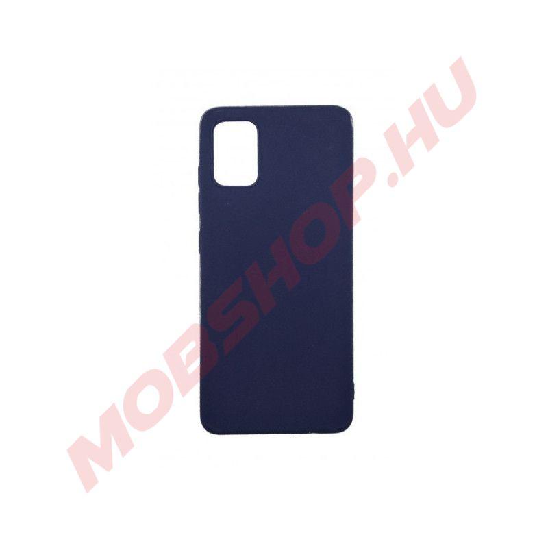 Samsung Galaxy S20 prémium szilikon telefontok SÖTÉTKÉK - mobshop.hu
