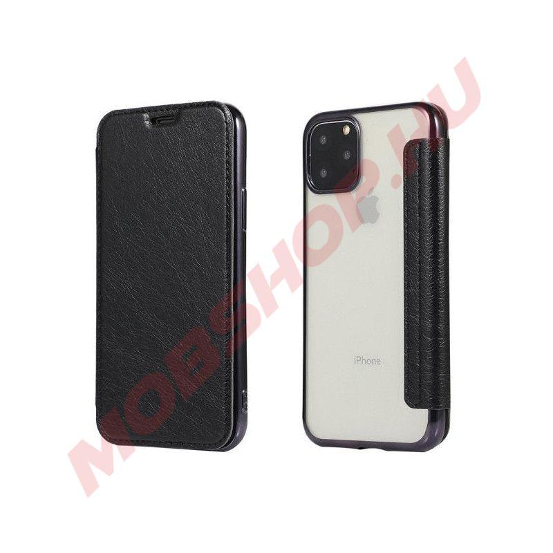 Huawei P30 oldalra nyíló Electro Book flip telefontok, FEKETE - mobshop.hu