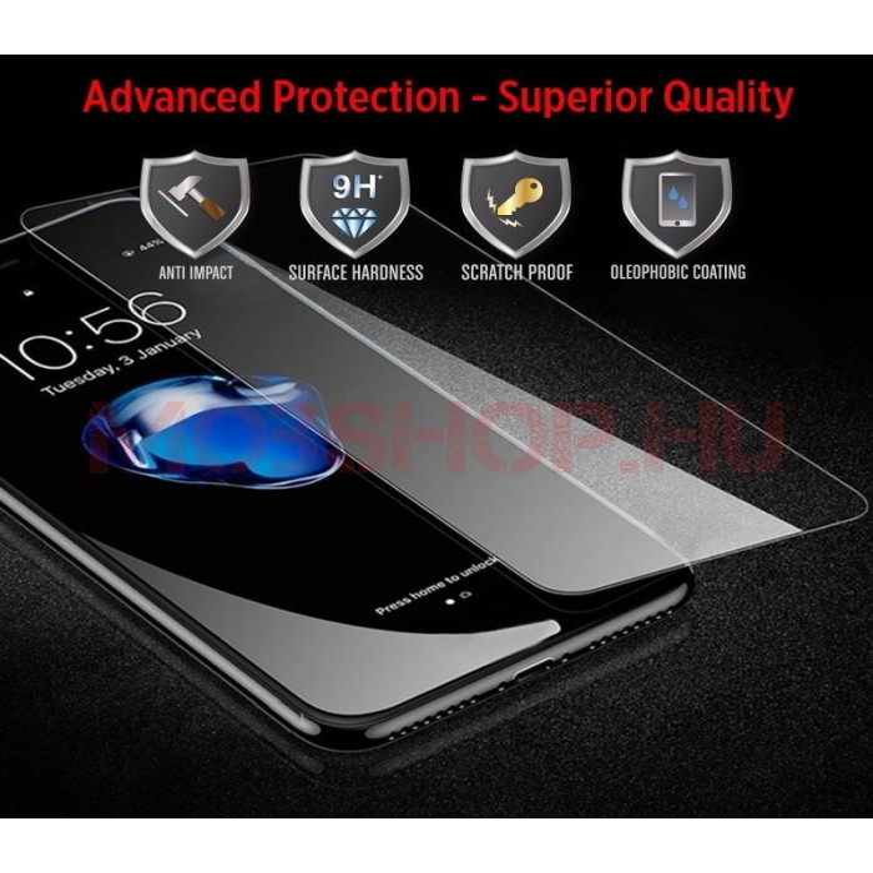 Samsung Galaxy A40 kijelzővédő üvegfólia - mobshop.hu