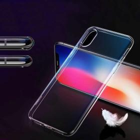 iPhone X / XS, Mercury JELLY szilikon telefontok, ÁTLÁTSZÓ - mobshop.hu