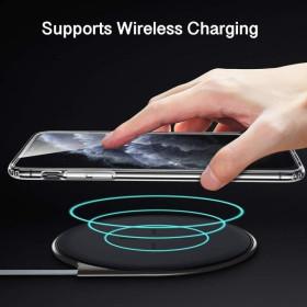 iPhone 11 PRO szilikon telefontok, ÁTLÁTSZÓ - mobshop.hu