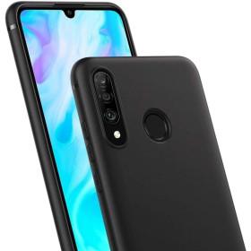 Huawei P30 Lite prémium szilikon telefontok, FEKETE mobshop.hu