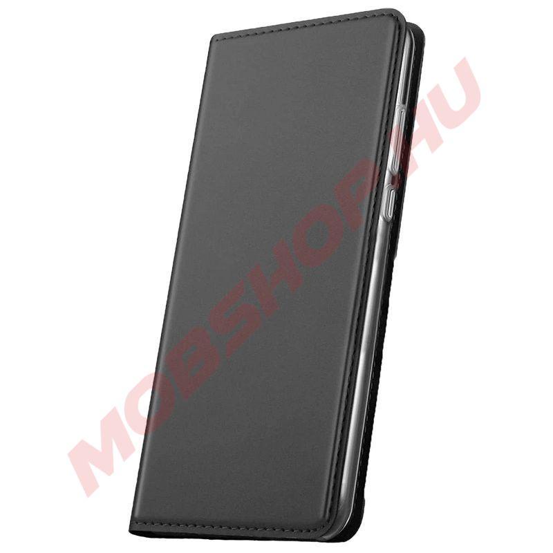 Huawei P30 Lite Prémium flip telefontok FEKETE - mobshop.hu