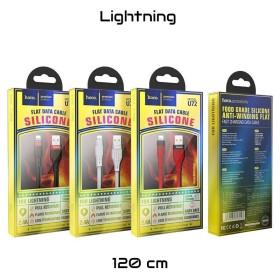 HOCO PRÉMIUM Lightning adat és töltőkábel, 1,2m, FEKETE - mobshop.hu