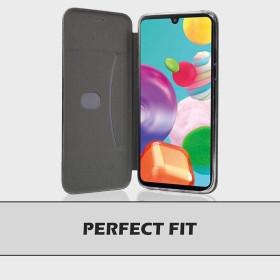 Huawei P30 Lite oldalra nyíló Elegance flip telefontok, FEKETE - mobshop.hu