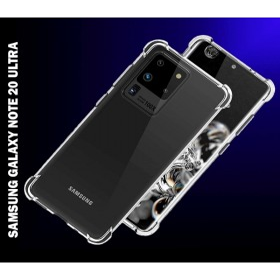 Samsung Galaxy NOTE 20 ULTRA prémium  szilikon / akril telefontok, közepesen ütésálló, ÁTLÁTSZÓ - mobshop.hu
