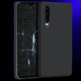 Huawei P30 XPROTECTOR Prémium szilikon telefontok, FEKETE - mobshop.hu