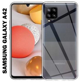 Samsung Galaxy A42 szilikon telefontok, ÁTLÁTSZÓ - mobshop.hu