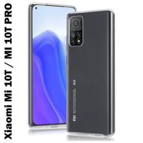 Xiaomi Mi 10T / MI 10T Pro szilikon tok, ÁTLÁTSZÓ - mobshop.hu