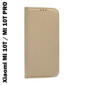 Xiaomi Mi 10T / MI 10T Pro Smart Book flip tok, ARANY - mobshop.hu