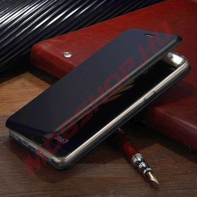Samsung Galaxy A21s oldalra nyíló (Elegance) flip telefontok, FEKETE - mobshop.hu