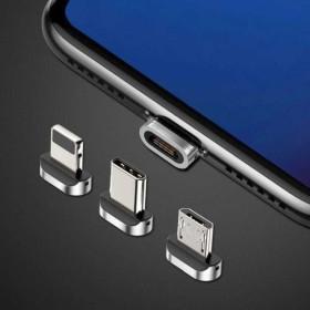 Baseus Micro-USB mágneses töltőfej csatlakozó - mobshop.hu
