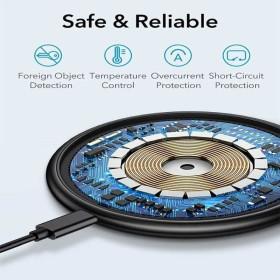 ESR Halo Lock™ vezeték nélküli MagSafe wireless gyorstöltő, FEKETE - mobshop.hu