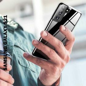 Samsung Galaxy S21 szilikon telefontok, ÁTLÁTSZÓ - mobshop.hu