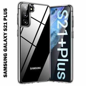 Samsung Galaxy S21 Plus szilikon telefontok, ÁTLÁTSZÓ - mobshop.hu