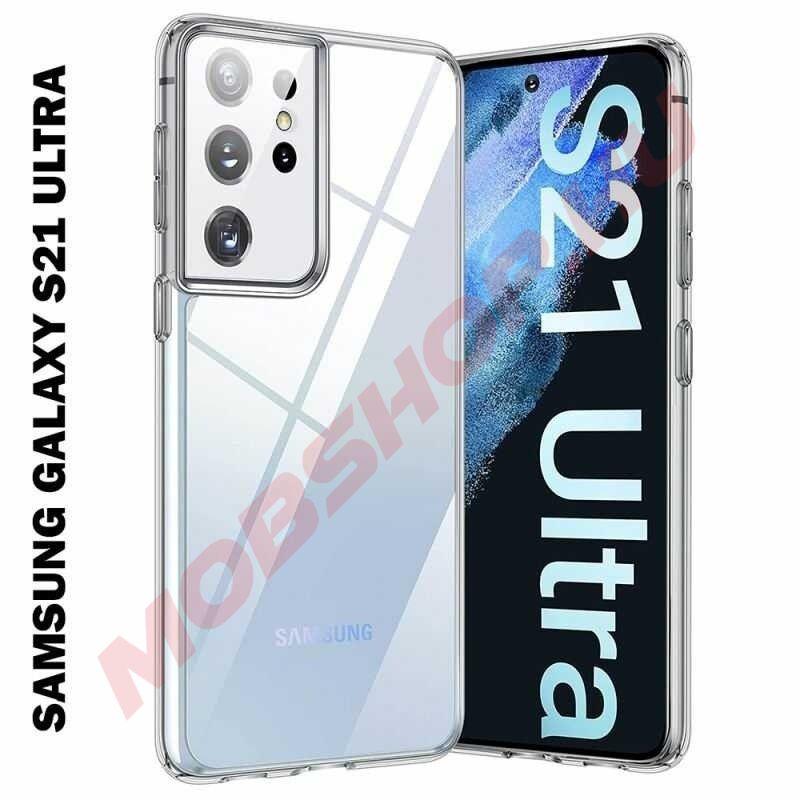 Samsung Galaxy S21 ULTRA szilikon telefontok, ÁTLÁTSZÓ - mobshop.hu