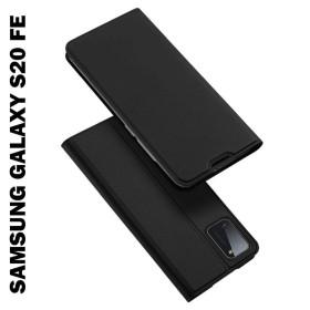 Samsung galaxy S20 FE prémium flip tok, FEKETE - mobshop.hu