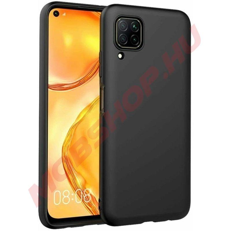 Huawei P40 Lite XPROTECTOR Prémium szilikon telefontok, FEKETE - mobshop.hu