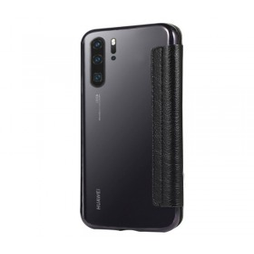 Huawei P30 PRO oldalra nyíló Electro Book flip telefontok, FEKETE - mobshop.hu