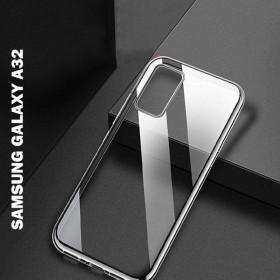 Samsung Galaxy A32 5G prémium szilikon telefontok, ÁTLÁTSZÓ - mobshop.hu