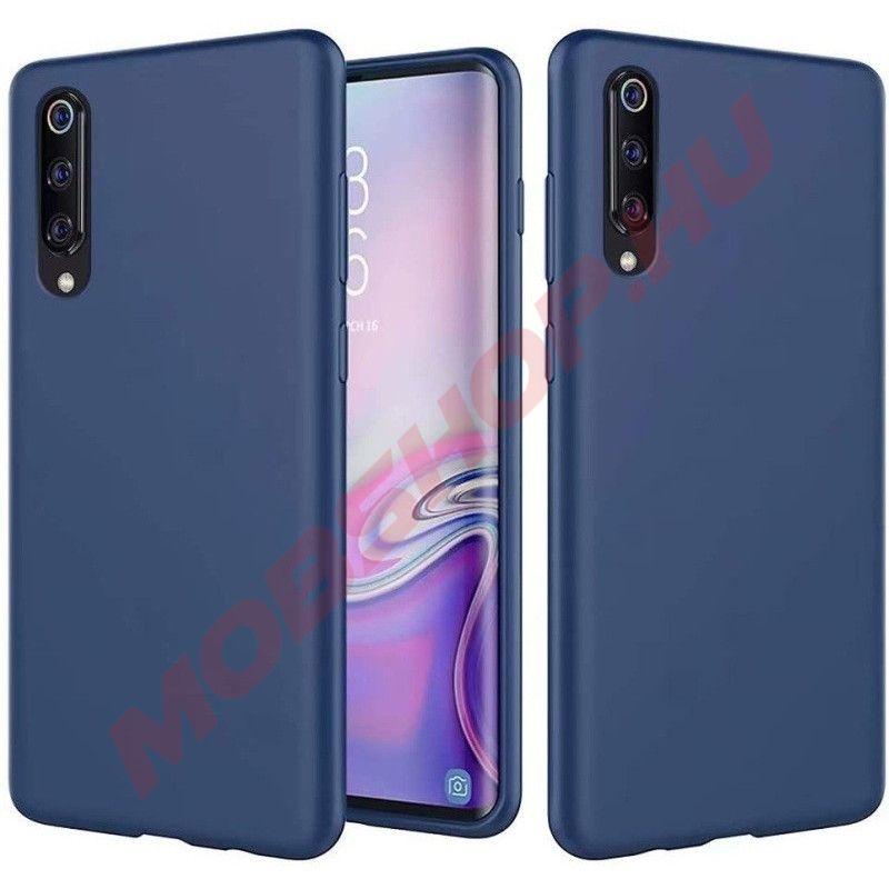 Xiaomi Mi NOTE 10 / NOTE 10 PRO Prémium szilikon telefontok, Sötétkék - mobshop.hu