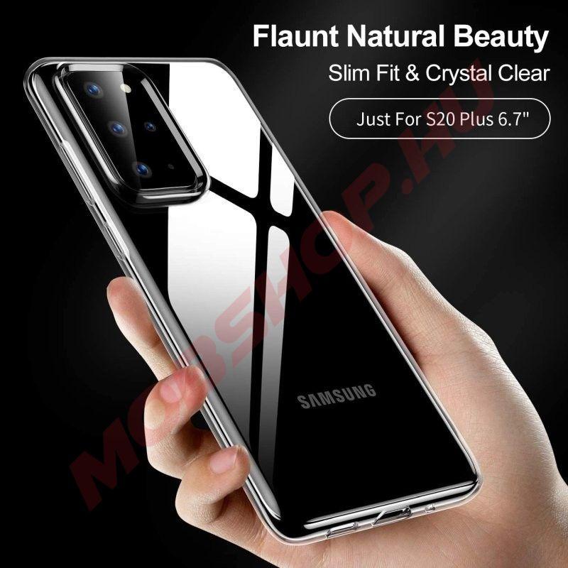Samsung Galaxy S20 Plus Mercury JELLY szilikon telefontok, ÁTLÁTSZÓ - mobshop.hu