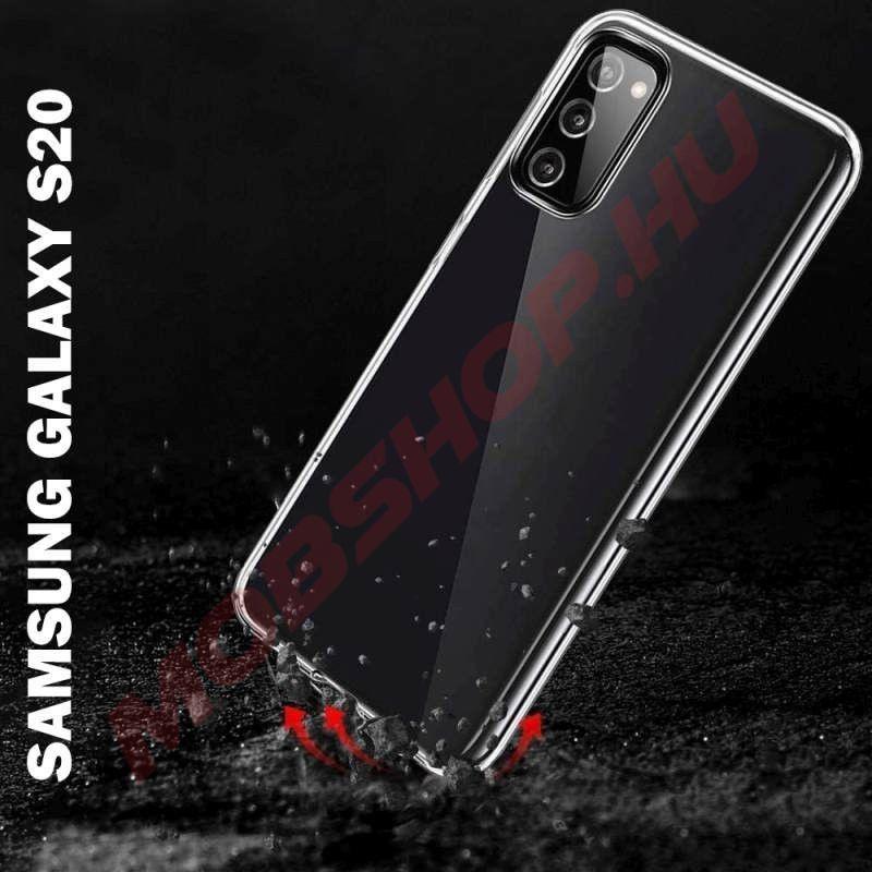 Samsung Galaxy S20 Mercury JELLY szilikon telefontok, ÁTLÁTSZÓ - mobshop.hu