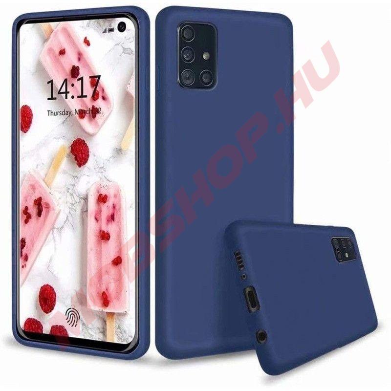 Samsung Galaxy A51 prémium szilikon telefontok, KÉK - mobshop.hu