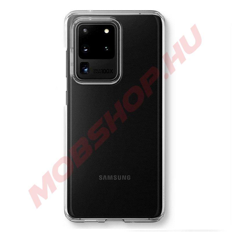 Samsung Galaxy S20 PLUS prémium szilikon telefontok 2mm, ÁTLÁTSZÓ - mobshop.hu