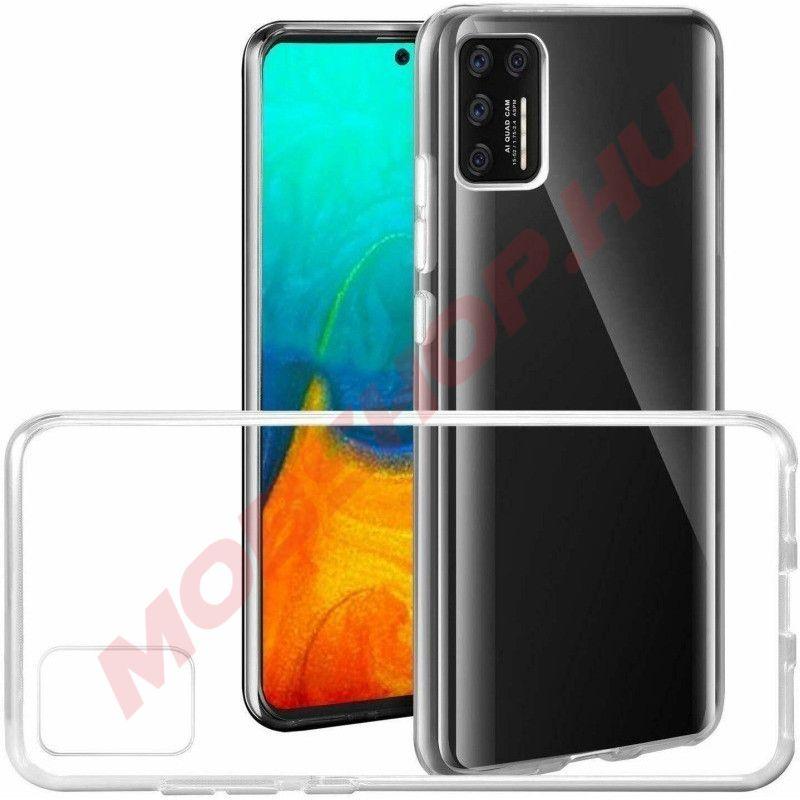 Samsung Galaxy A71 szilikon telefontok ÁTLÁTSZÓ - mobshop.hu