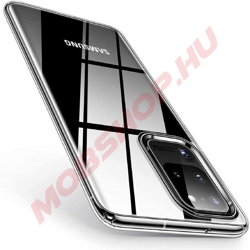 Samsung Galaxy S20 ULTRA, Mercury JELLY szilikon telefontok, ÁTLÁTSZÓ - mobshop.hu