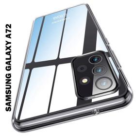 Samsung Galaxy A72 5G prémium Roar szilikon tok, átlátszó - mobshop.hu