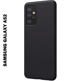 Samsung Galaxy A52 4G / 5G szilikon tok, fekete - mobshop.hu
