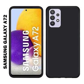 Samsung Galaxy A72 szilikon tok, fekete - mobshop.hu