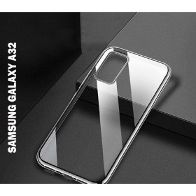 Samsung Galaxy A32 4G prémium szilikon tok, ÁTLÁTSZÓ mobshop.hu