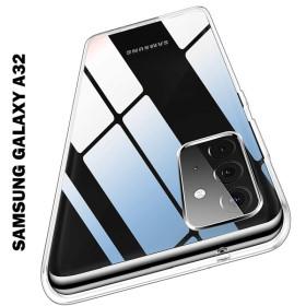 Samsung Galaxy A32 4G prémium szilikon tok, ÁTLÁTSZÓ - mobshop.hu