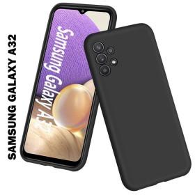 Samsung Galaxy A32 4G prémium szilikon telefontok, fekete - mobshop.hu