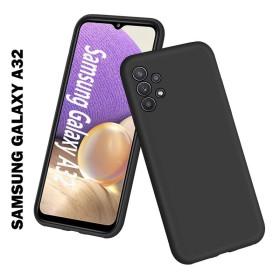 Samsung Galaxy A32 4G szilikon telefontok, fekete - mobshop.hu
