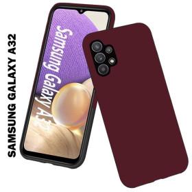 Samsung Galaxy A32 5G prémium szilikon telefontok, burgundi - mobshop.hu