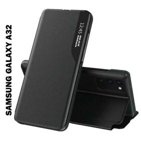Samsung Galaxy A32 4G Smart View flip tok, fekete - mobshop.hu