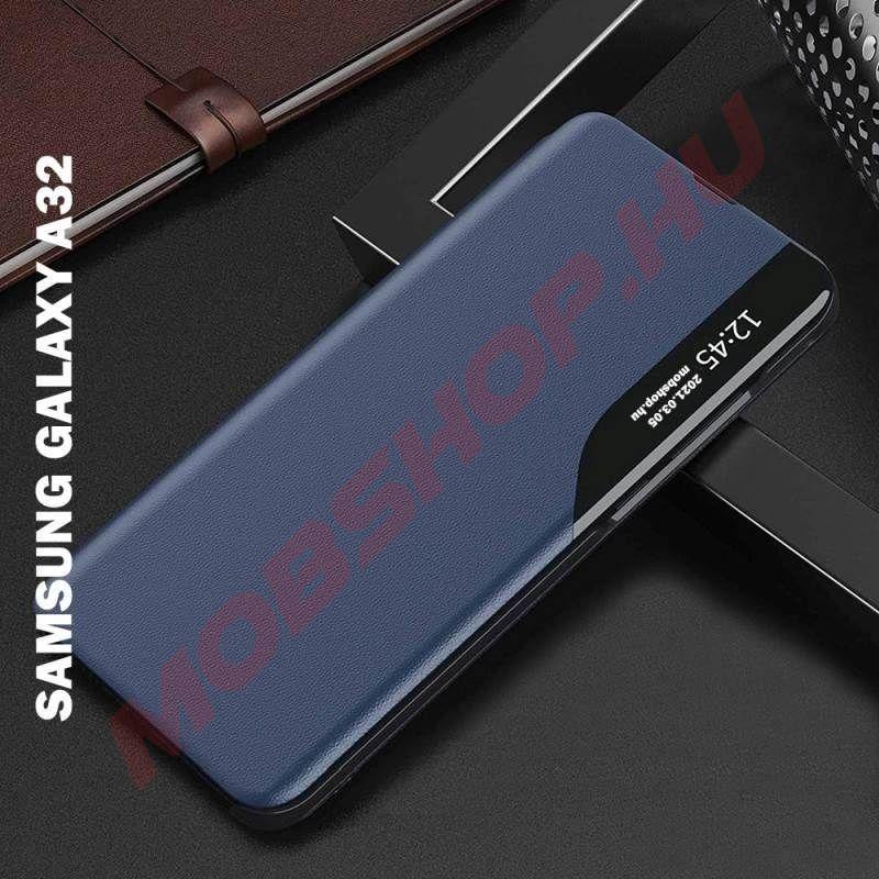 Samsung Galaxy A32 5G Smart View flip tok, kék - mobshop.hu