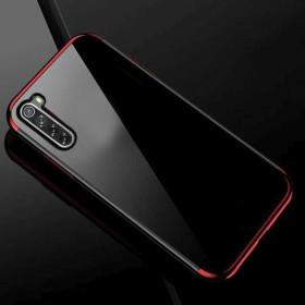 Xiaomi Redmi Note 8T átlátszó szilikon telefontok, ELECTRO PIROS - mobshop.hu