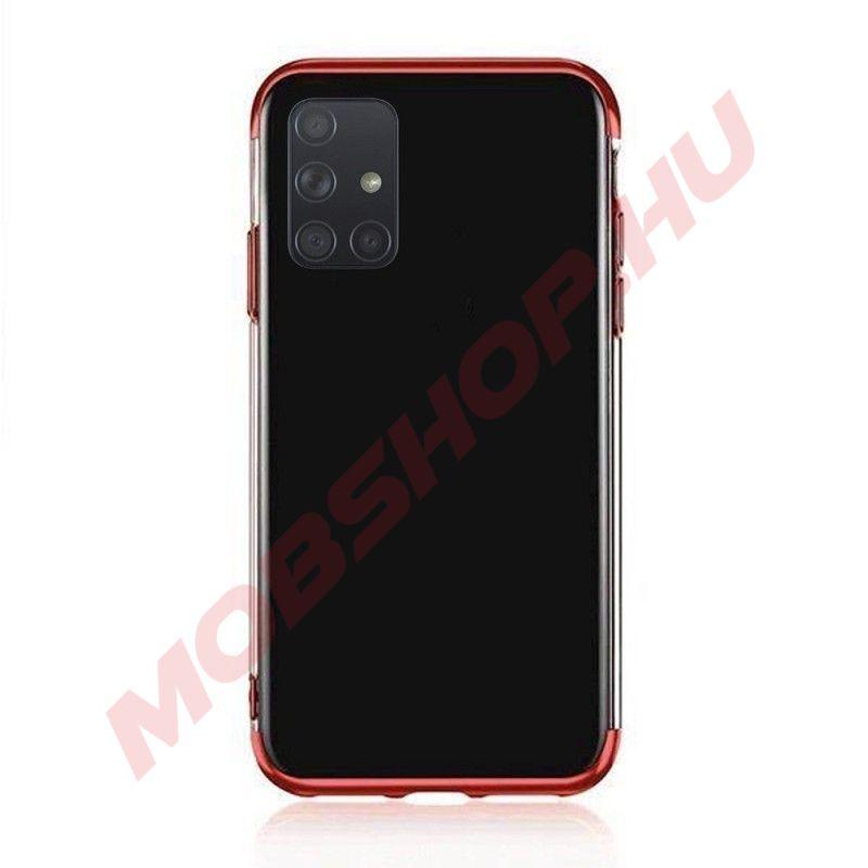 Samsung Galaxy A71 átlátszó szilikon telefontok, ELECTRO PIROS - mobshop.hu