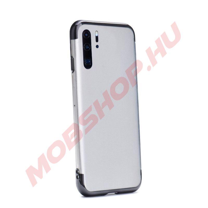 Huawei P30 Pro átlátszó szilikon telefontok, ELECTRO FEKETE - mobshop.hu
