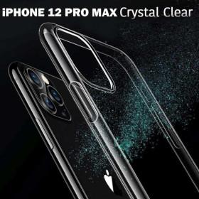 iPhone 12 PRO MAX szilikon telefontok, ÁTLÁTSZÓ - mobshop.hu