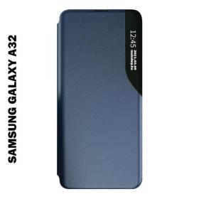 Samsung Galaxy A32 4G Smart View flip tok, kék - mobshop.hu