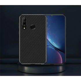 Huawei P30 Lite karbon (carbon) mintás szilikon tok, Fekete - mobshop.hu
