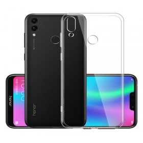 Huawei P Smart (2019) szilikon telefontok, ÁTLÁTSZÓ - mobshop.hu