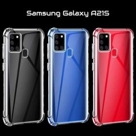 Samsung Galaxy A21S prémium szilikon telefontok, ÁTLÁTSZÓ - mobshop.hu